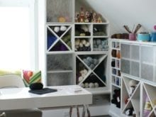 California Closets Craft Room Custom Storage Solutions