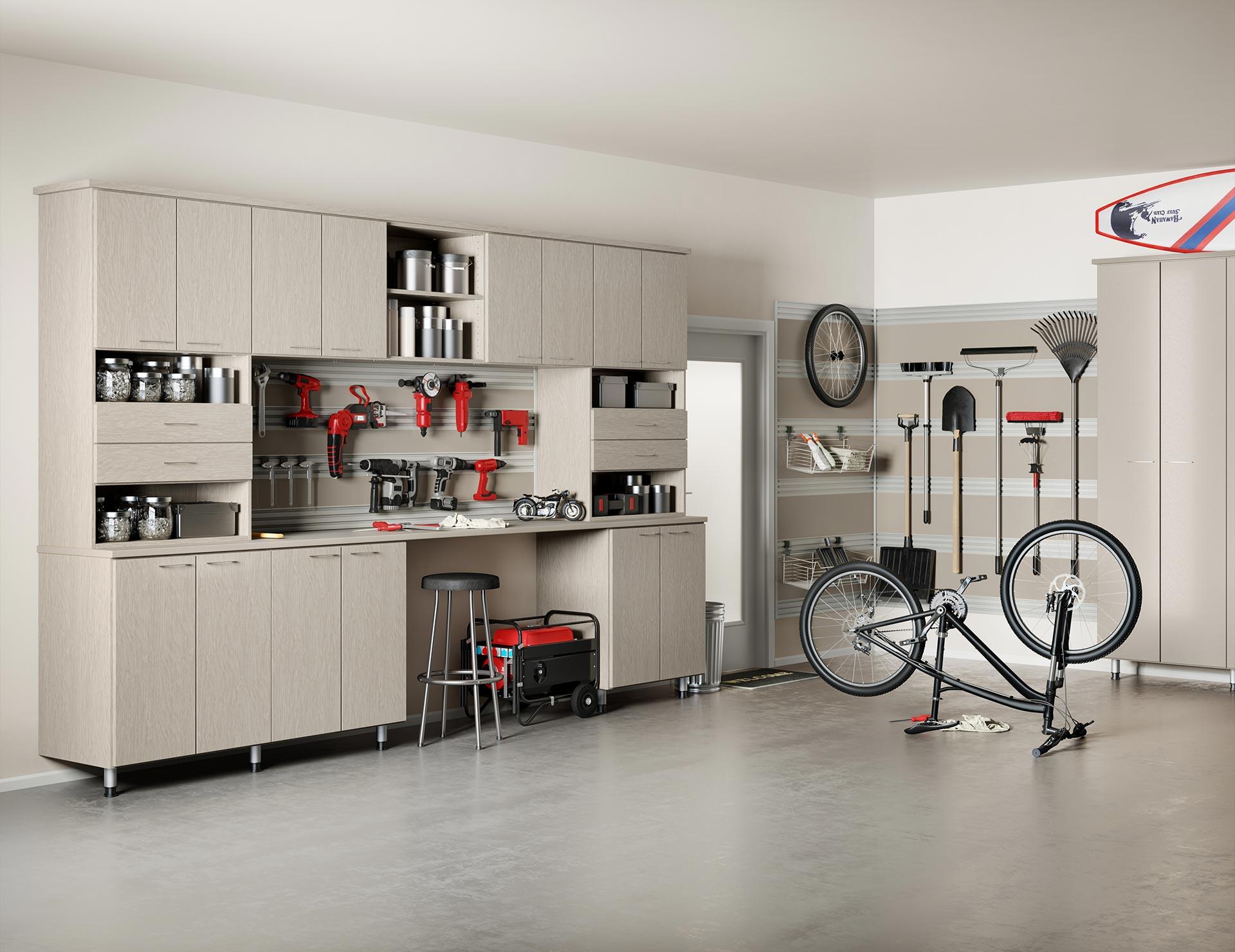 Custom Garage Storage Cabinets | Garage Organization ...