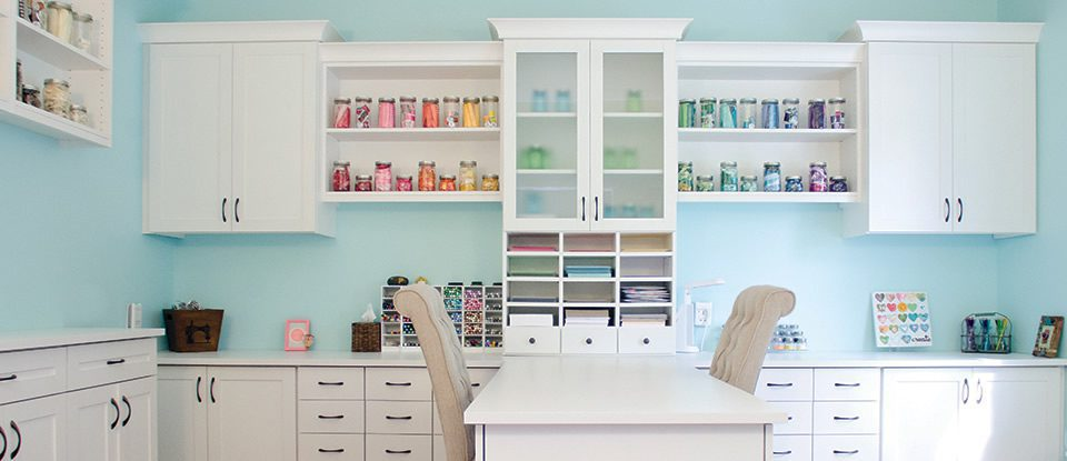 Craft Room Storage Ideas & Organization Systems | California Closets