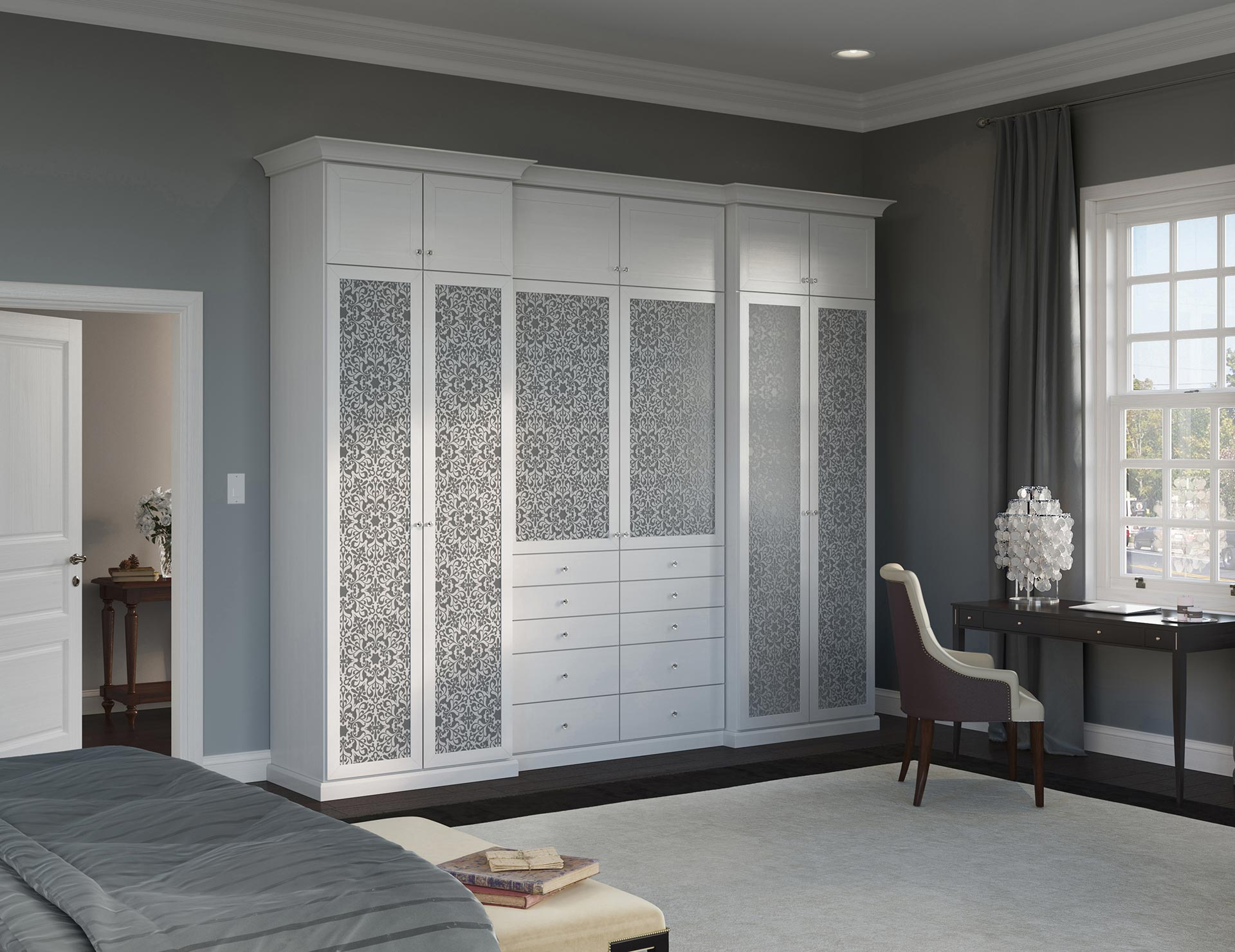 Stand Alone Wardrobe Designs : Custom wardrobe design wardrobe storage systems california closets