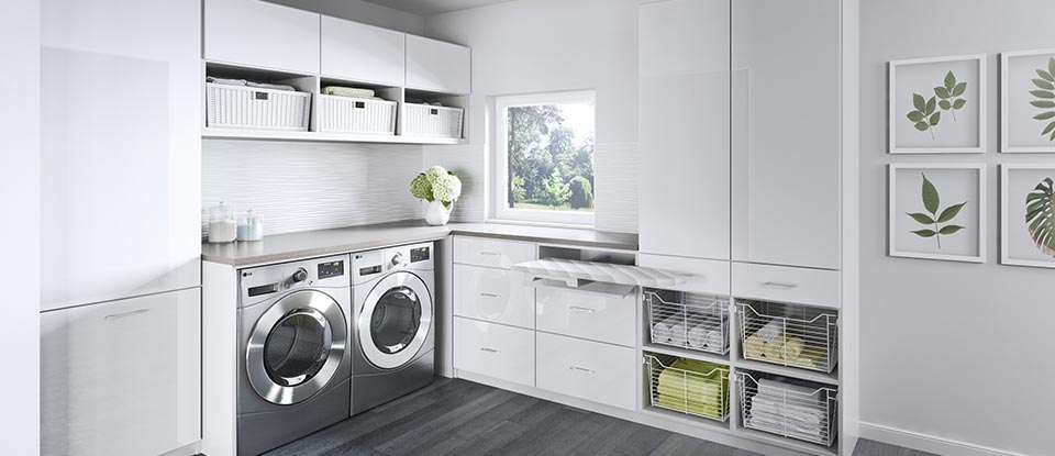 Laundry Room Cabinets Amp Storage Ideas California Closets