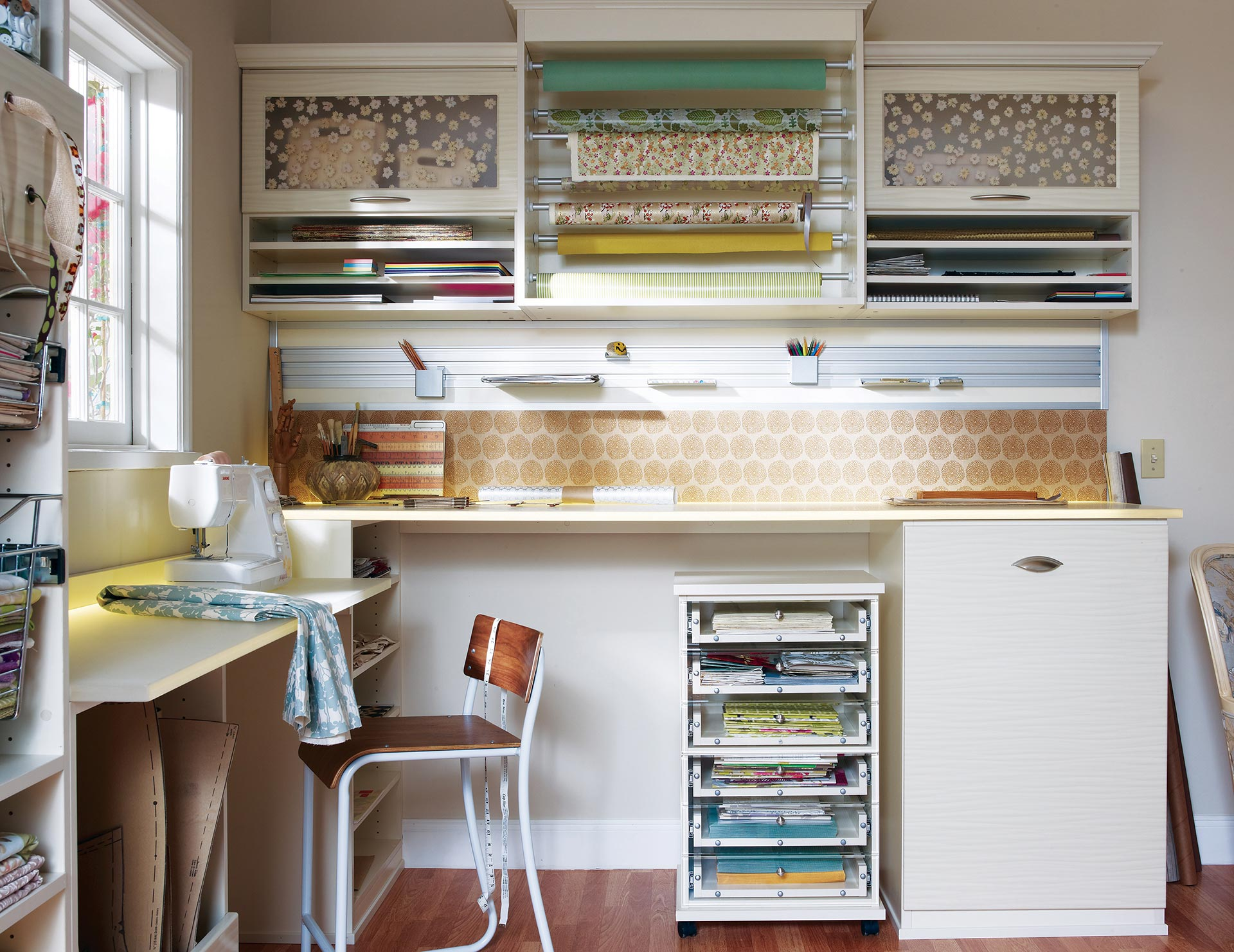Storage For Craft Room: Craft Room Storage Ideas & Organization Systems