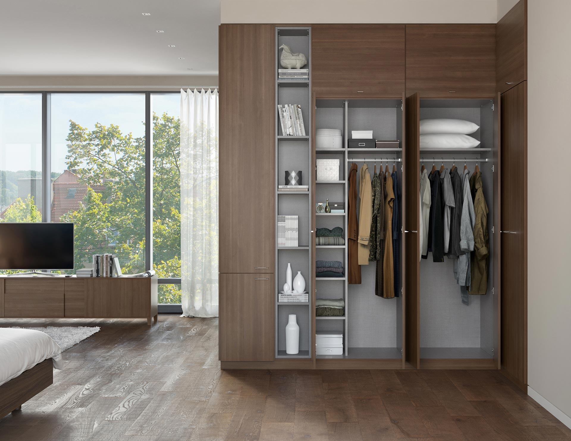 Wardrobe Closets Custom Wardrobe Closet Systems For Your Bedroom