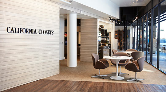 California Closets About Our Showrooms Website Banner