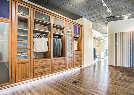 California Closets Dallas Plano Texas Showroom Interior