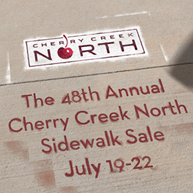 California Closets Cherry Creek Sidewalk Sale Event Denver