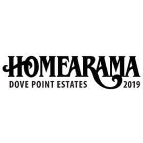 Homearama at dove point estates 2019 logo