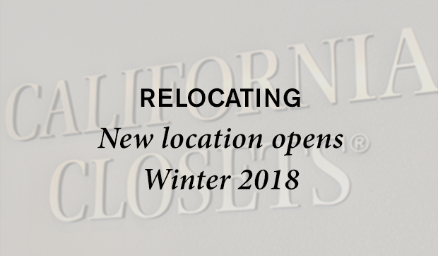 Relocating New Locations Opens Winter 2018