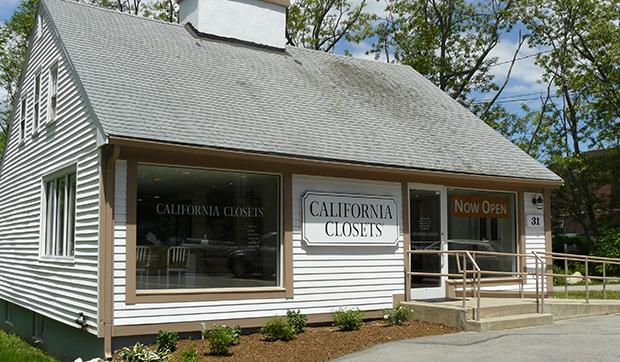 California Closets Hingham Showroom Exterior