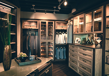 Interior Of Corona Del Mar Showroom In Orange County. Visit The California  Closets ...