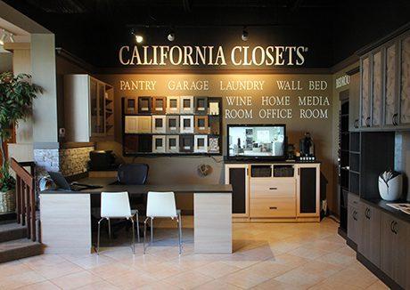 California Closets Lancaster Showroom interior
