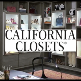 California Closets custom closet redesign for mothers day