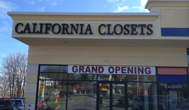 Storefront California Closets Peabody Massachusetts Showroom