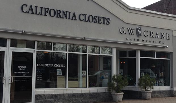 Storefront California Closets West Hartford Showroom
