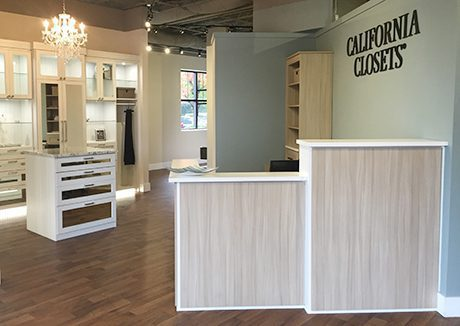 Alpharetta California Closets Showroom Interior