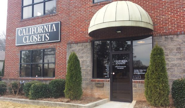 California Closets Alpharetta Showroom Exterior