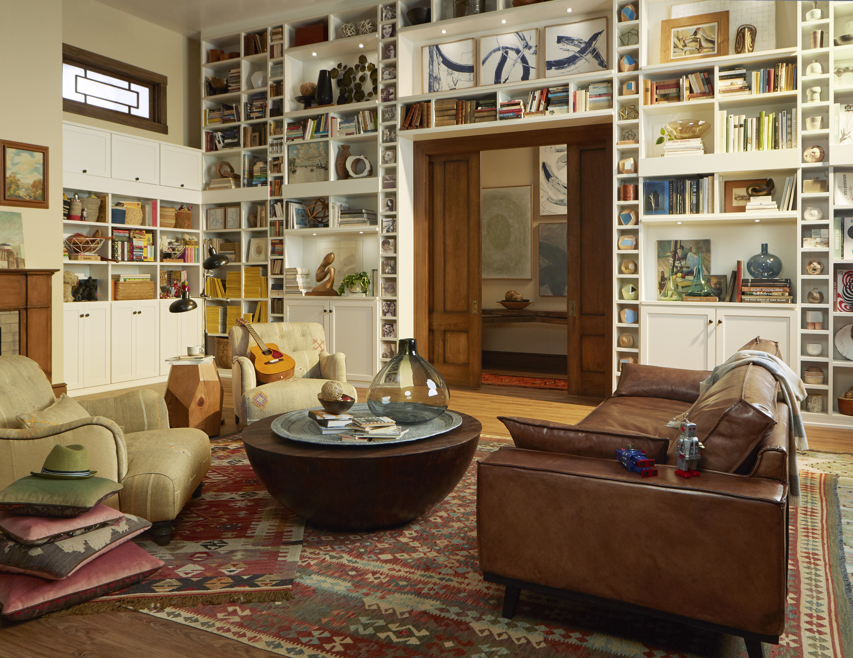 stunning living room cabinets shelves | Home Library Custom Bookcases & Shelves | California Closets