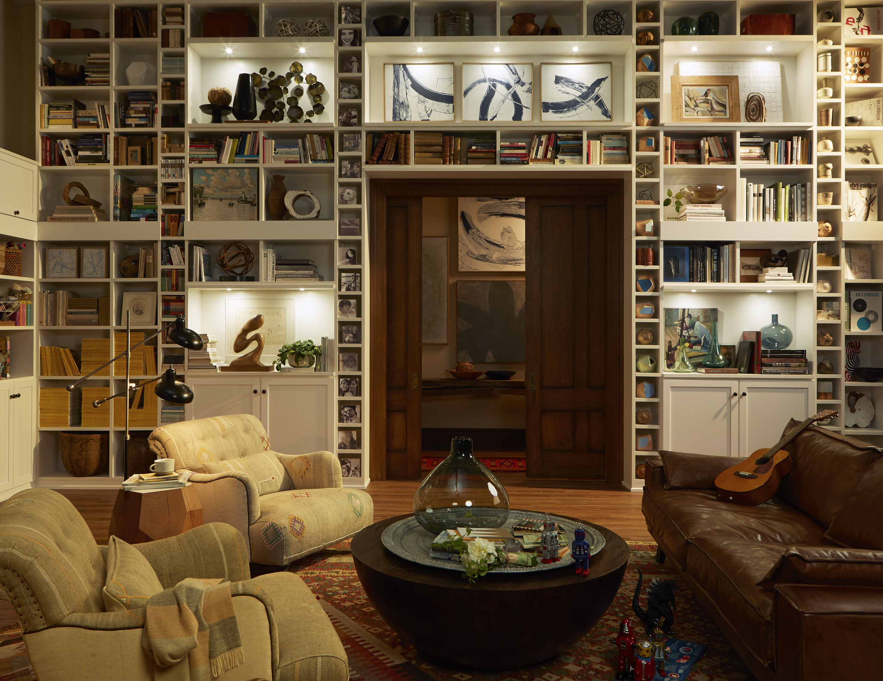 Home Library Bookcases & Shelves Solutions