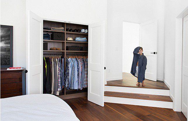 Una transformación de clósets de casa entera para la bloguera Erica Coffman