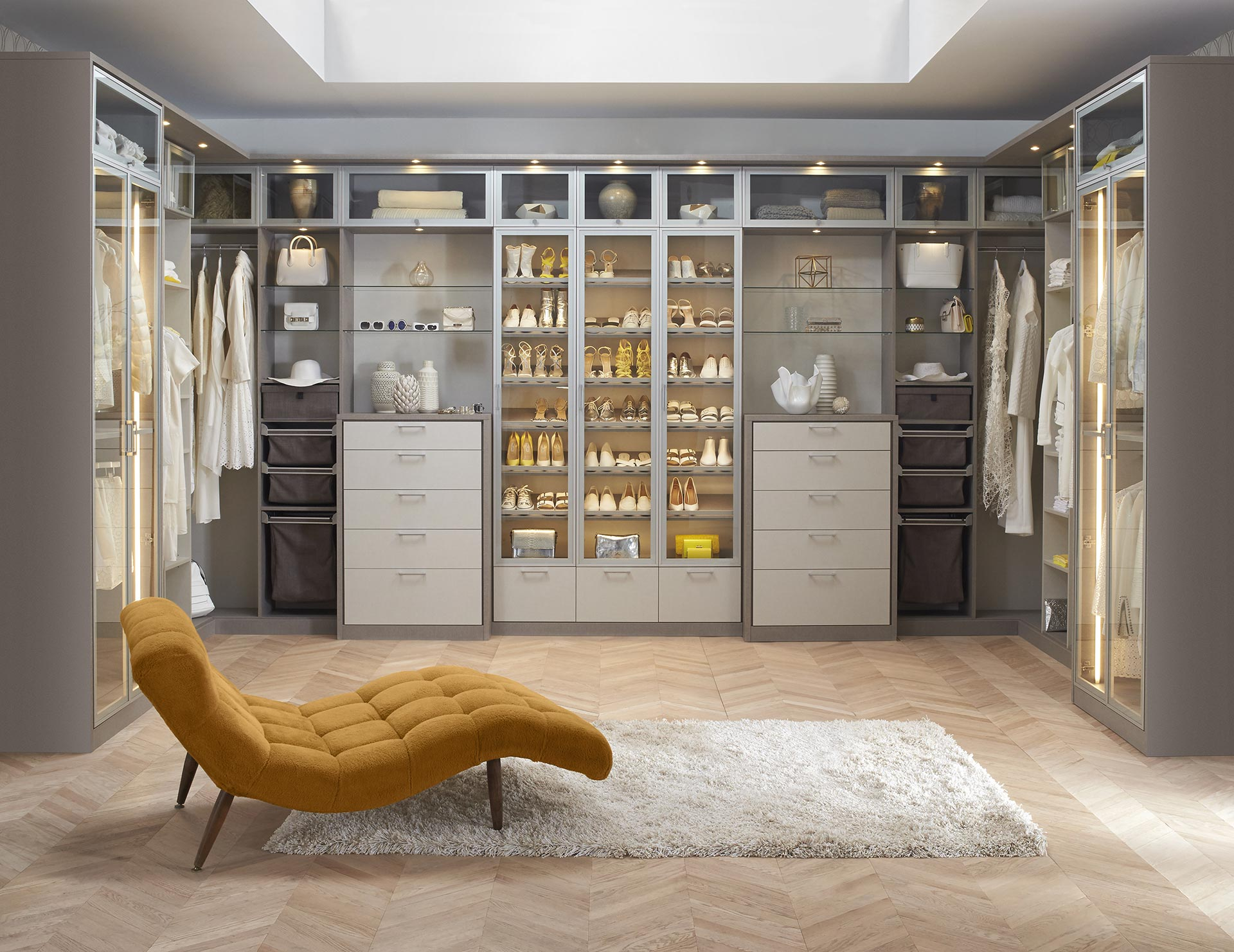 Walk in closet systems walk in closet design ideas - Pictures of walk in closets ...