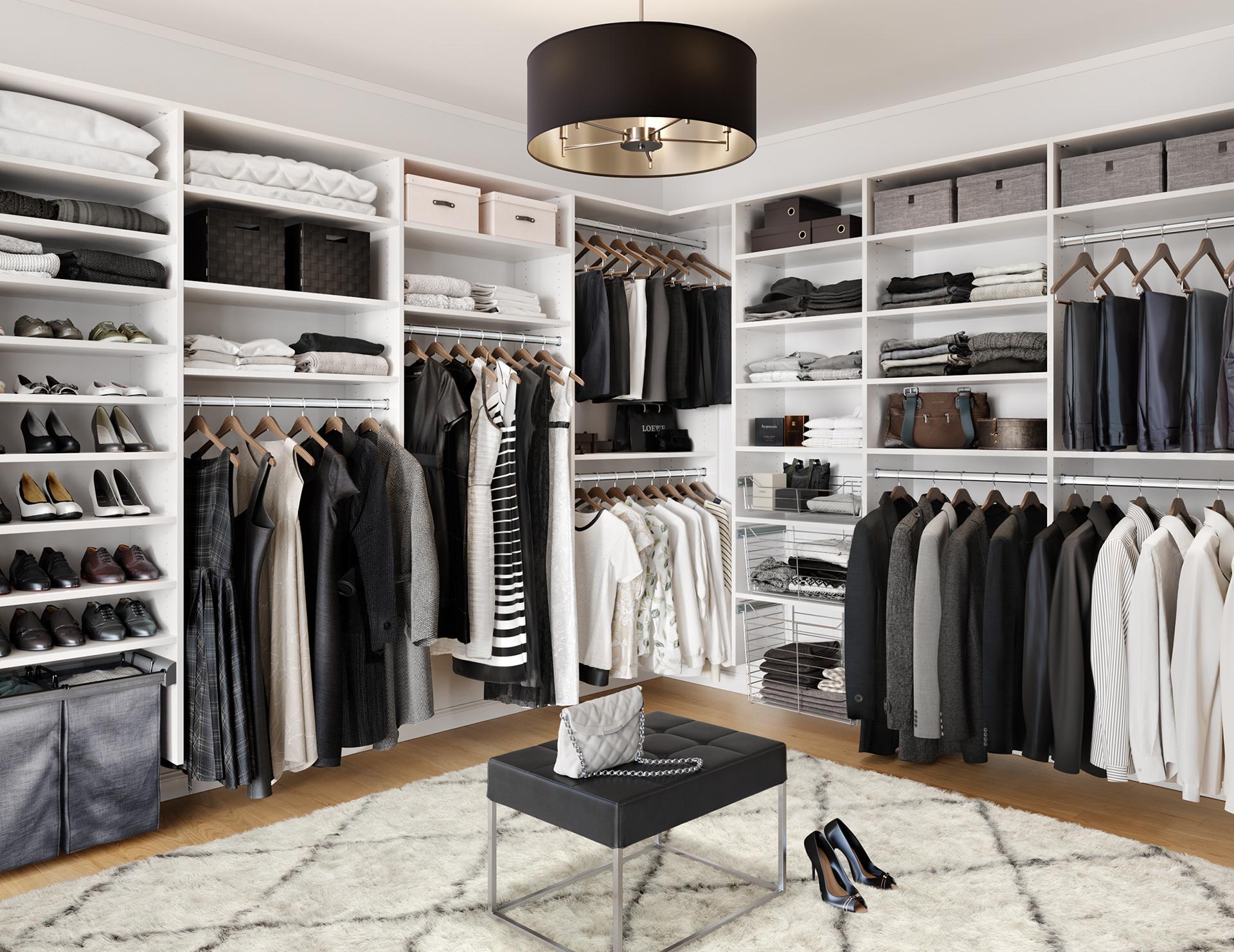 Walk In Closet Systems Walk In Closet Design Ideas California