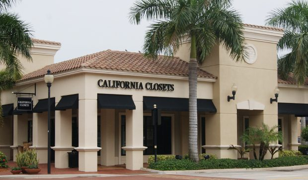 Storefront California Closets Palm Beach Gardens Showroom
