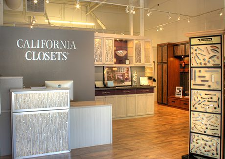 California Closets Showroom interior in Roseville