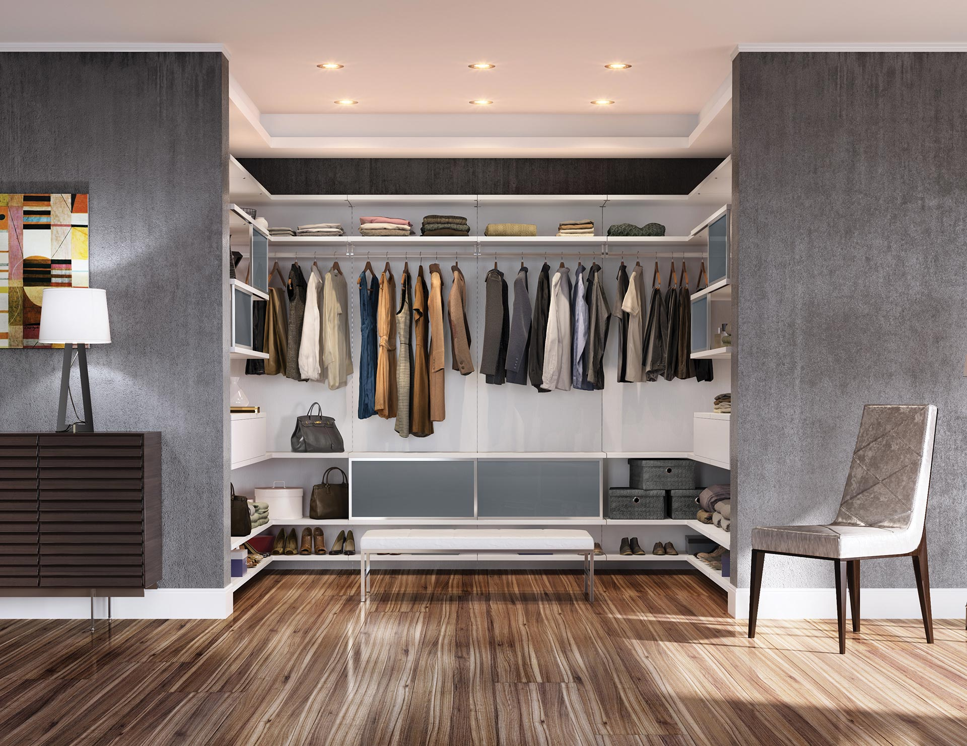 walk in closets designs ideas by california closets rh californiaclosets com  small modern walk in closet design