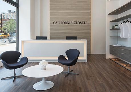 Interior California Closets Tribeca Showroom