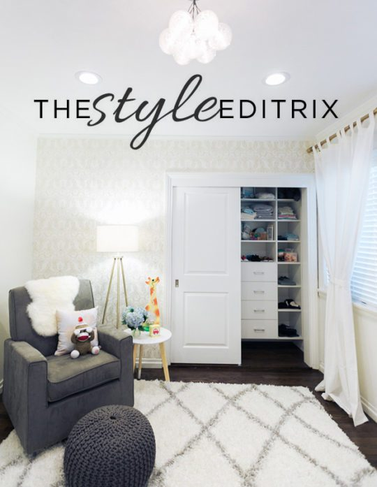 The Style Editrix: Nursery Reveal