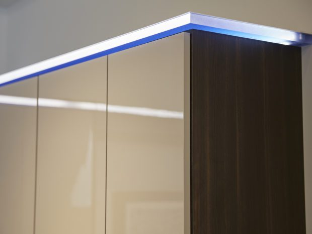 Closet Design Lighting Enhancements