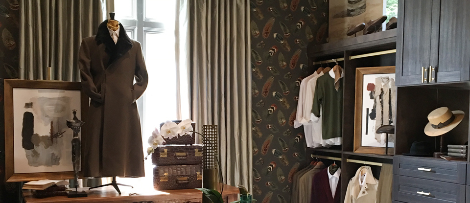 The Gentleman's Closet: Q/A with California Closets' Calais McGuinness on the Southeastern Showhouse