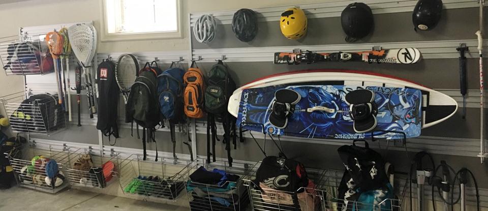 L'organisation du garage