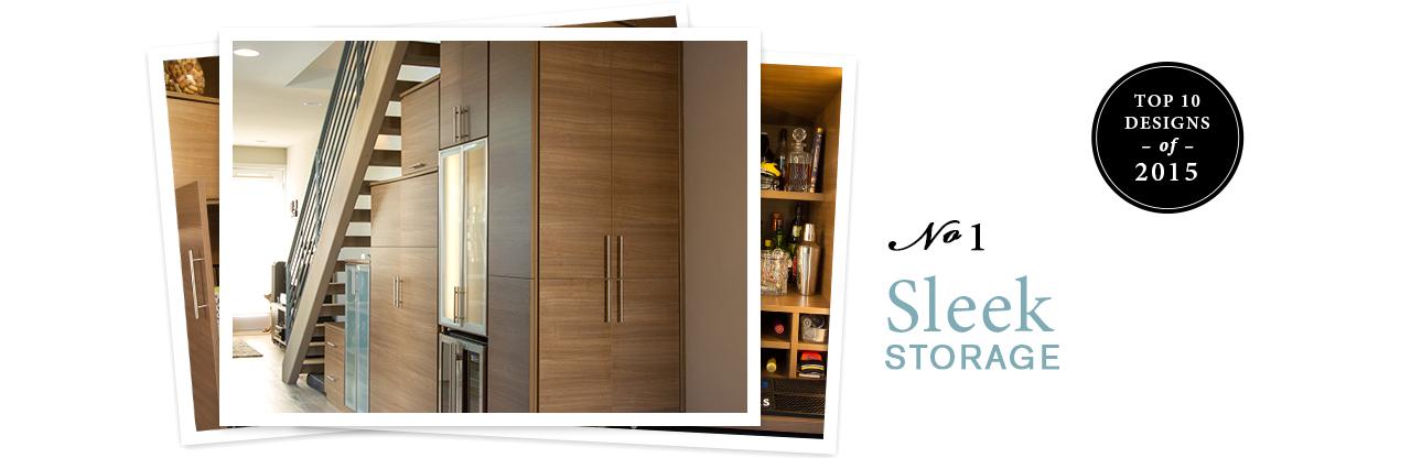 Top 10 Designs of 2015 Sleek Storage