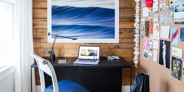 Tastemaker Q/A:  Michelle Adams' Home Office Bliss