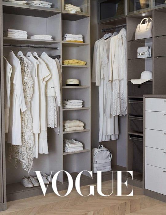 9 sencillas maneras en que los profesionales mantienen sus closets ordenados