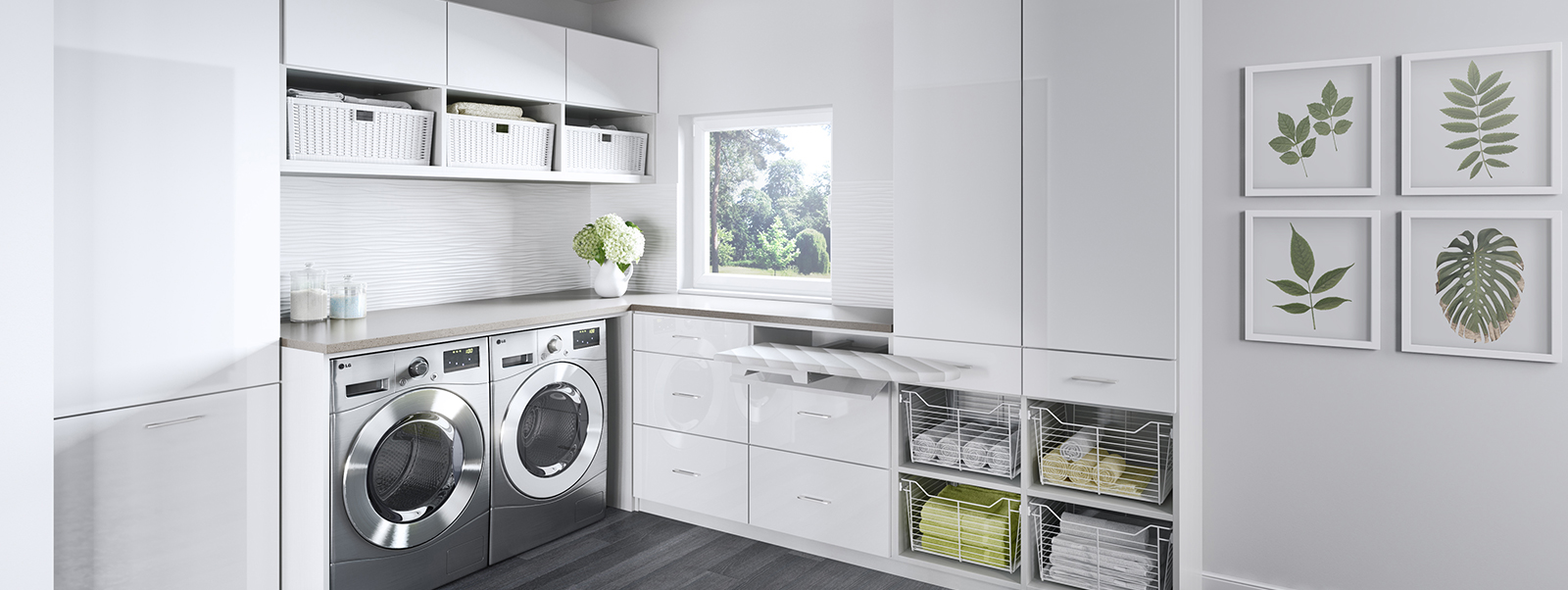Laundry Room Cabinets & Storage Ideas | California Closets