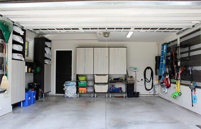Transformation du garage d'une famille active en Ontario