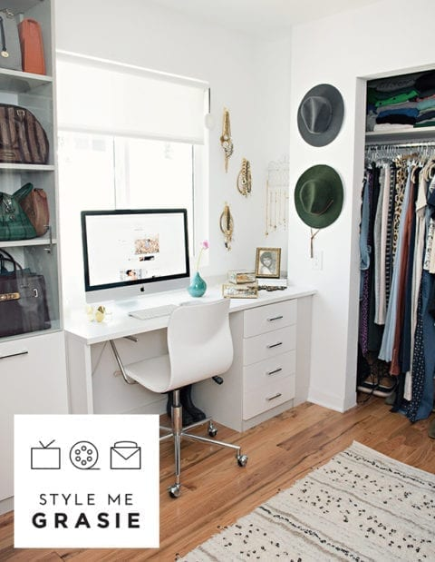 Our New Home: Closet/ Office