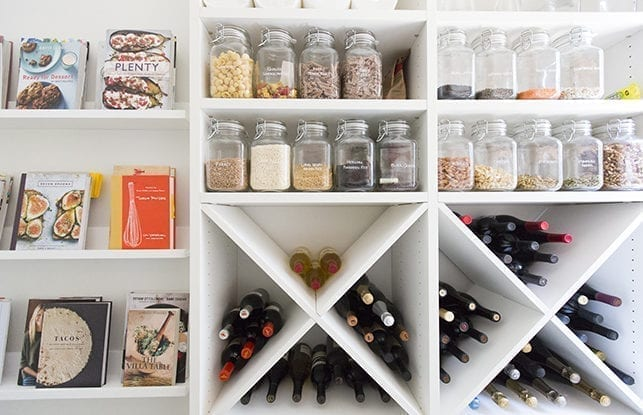 Pantry Perfection for Lifestyle Blogger, Erin Hiemstra