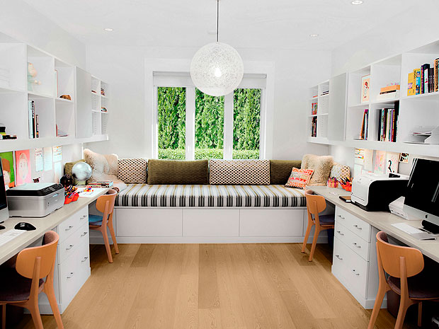California Closets - Family Work Space/Home Office