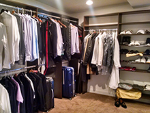 Lighting Contest Client Story Integrated Ceiling Accent Lighting in Walk In Closet
