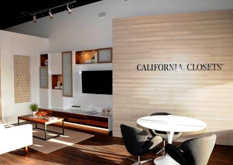 California Closets Showroom Interior Woodlands TX