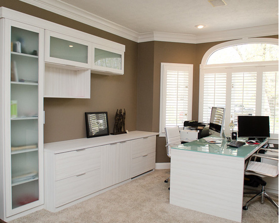 California Closets Cincinnati - Sleek Home Office