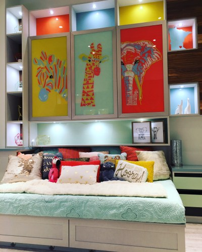 California Closets Minneapolis - Primary colors brighten this kid's bedroom with custom storage solutions