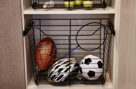 California Closets Slide-out Ball Storage Albuquerque