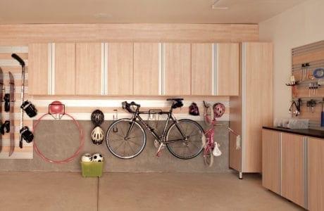 California Closets Cool Tone Garage Design Albuquerque