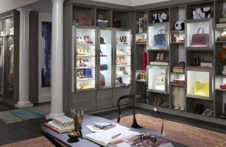 California Closets custom walk in closet design Albuquerque