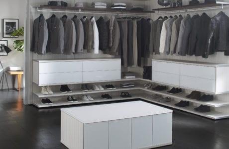 California Closets modernist closet design Northern New Jersey