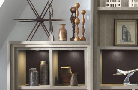 California Closets contemporary shelving design Birmingham